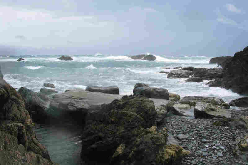 The tides in waters off Lundy Island are among the biggest on the planet.