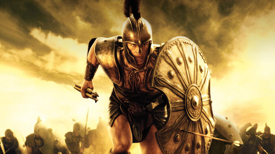 <em></em>It's probably for the best that Brad Pitt didn't sing his lines in <em>Troy</em> — but the source material, Homer's <em>Iliad</em>, is one of many ancient Greek works that were written to be sung. (Warner Bros. Pictures)