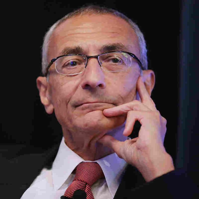 John Podesta was Bill Clinton's White House chief of staff from 1998 to 2001, helping the president survive impeachment.