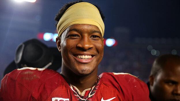 Florida State University quarterback Jameis Winston won the 2013 Heisman Trophy as college