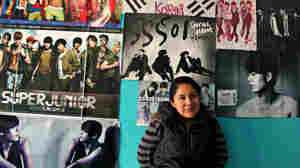 The room of Samantha Alejandra, 18, in Mexico City, doubles as a shrine to her favorite K-Pop boy band, Super Junior.