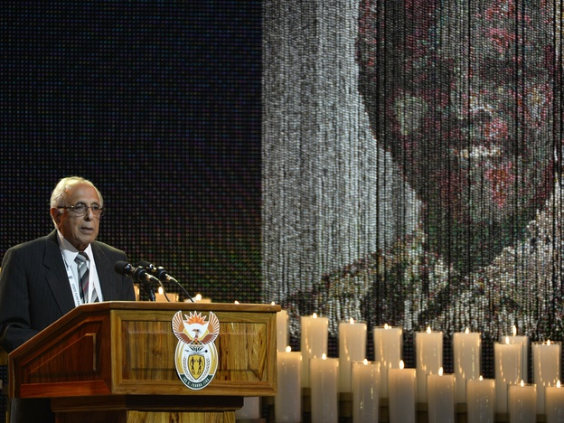 "Ahmed Kathrada knew Mandela as a longtime fellow prisoner and ANC activist. He spoke of Mandela and another ANC leader, Walter Sisulu, who died a decade ago. With both now dead, he said, ""My life is in a void. I don't know who to turn to."""