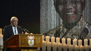 """Ahmed Kathrada knew Mandela as a longtime fellow prisoner and ANC activist. He spoke of Mandela and another ANC leader, Walter Sisulu, who died a decade ago. With both now dead, he said, """"My life is in a void. I don't know who to turn to."""""""