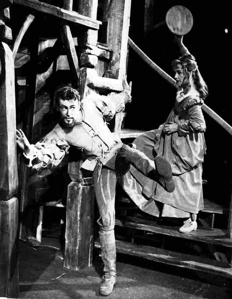 O'Toole started on the stage in London. In 1960, he starred as Petruchio, with Peggy Ashcroft as Katherine, in Shakespeare's The Taming of the Shrew, at the Memorial Theatre in Stratford-upon-Avon, England.