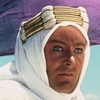 Peter O'Toole was nominated for an Academy Award for his title role in Lawrence of Arabia.
