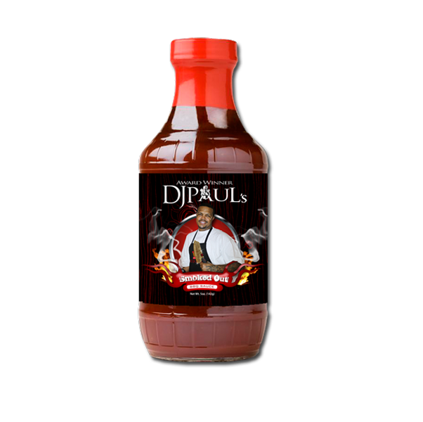 DJ Paul's Smoked Out BBQ Sauce.