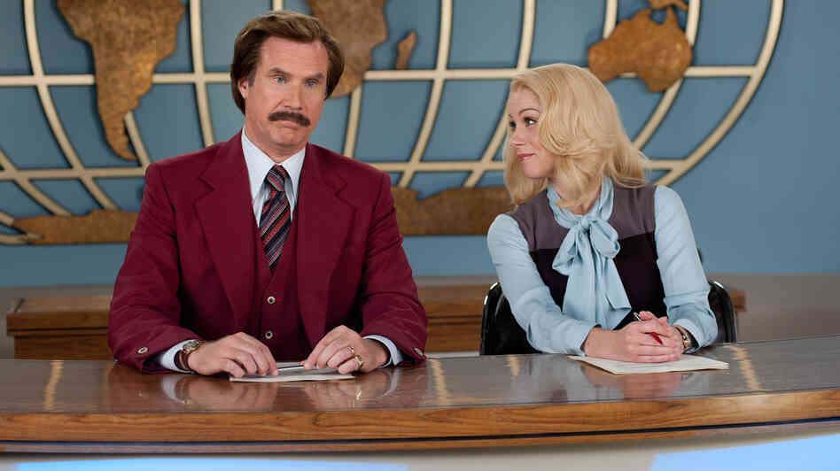 Great Odin's Raven! Will Ferrell's cheerfully idiotic Ron Burgundy and Christina Applegate's whip-smart Veronica Corningstone are back for a comedy sequel that critic Ian Buckwalter says is essentially an avalanche of one-liners.