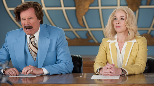Will Ferrell and Christina Applegate reprise their roles as competing news anchors in Anchorman 2: The Legend Continues.