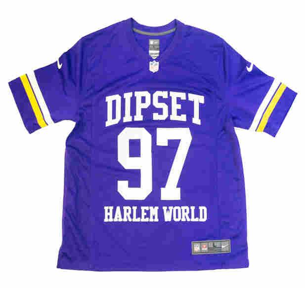 Dipset Harlem World Jersey.