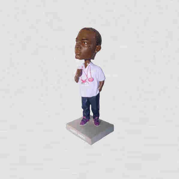 Gucci Mane Bobblehead Doll.