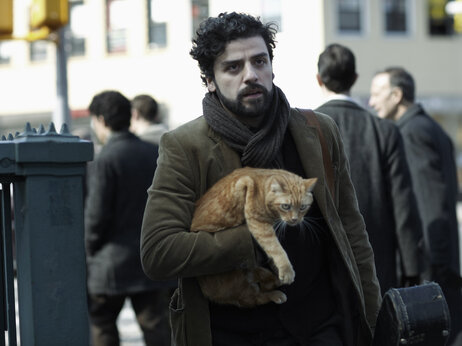 "An orange tabby cat co-stars alongside Oscar Isaac in the Coen brothers' Inside Llewyn Davis. ""The whole exercise of shooting a cat is pretty nightmarish because they don't care about anything,"" Ethan Coen says."