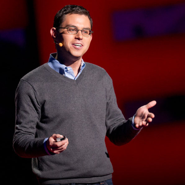 Joshua Foer on the TED Stage