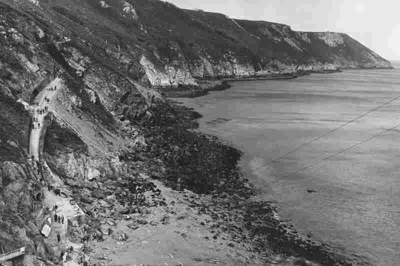 Lundy Island, shown here in 1969, is in another sea area covered by the Shipping Forecast.
