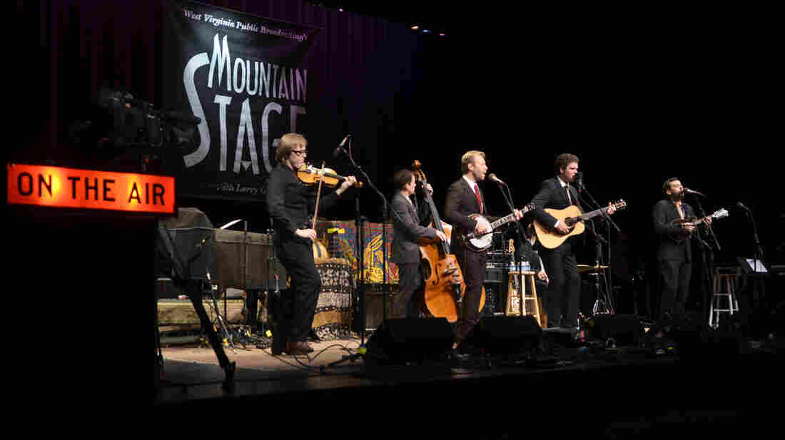 The Steep Canyon Rangers performing live on Mountain Stage.
