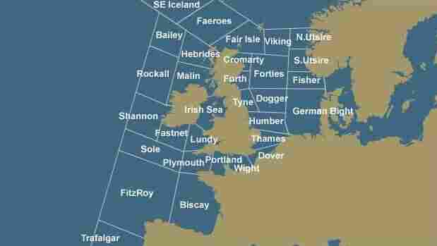 The BBC's beloved Shipping Forecast bulletin covers 31 sea areas, the names of which have inspired poets, artists and singers and become embedded into the national psyche.