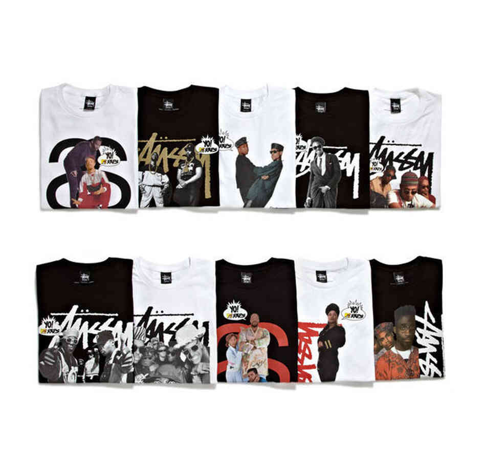 Stussy x Yo! MTV Raps Collection.