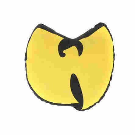 Wu Bird Pillow in Yellow/Black.