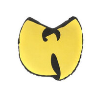 Wu Bird Pillow in Yellow/Black.