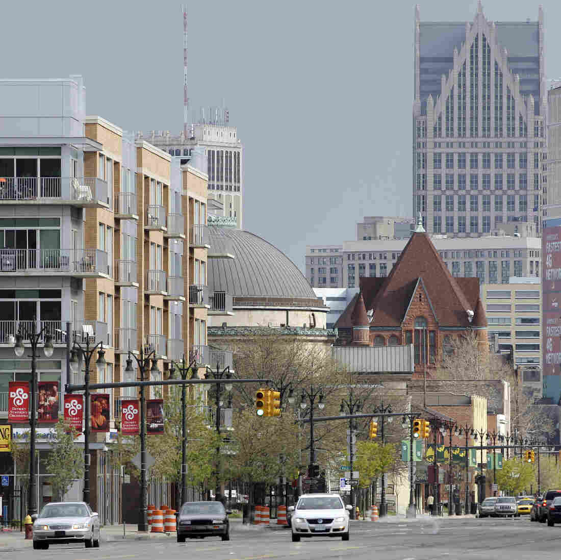 Detroit's Midtown neighborhood is reviving in the midst of the larger city's decline.