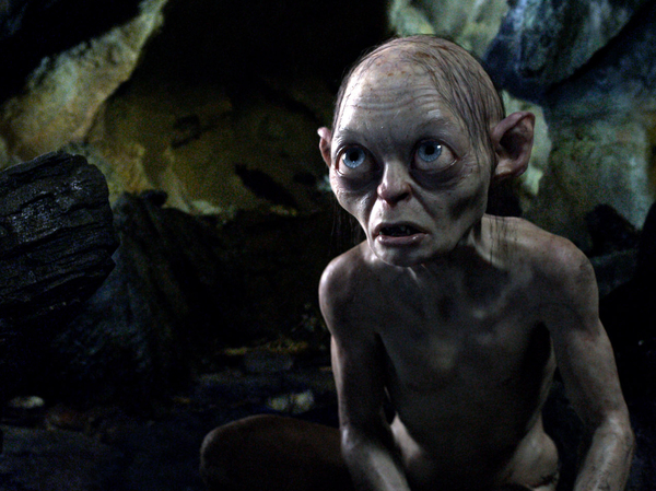 Gollum: Maybe if he took a daily vitamin, improved his diet and got outside more he'd have done better.