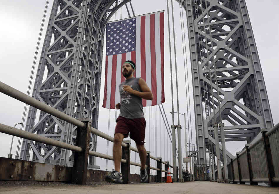 The George Washington Bridge in Fort Lee, N.J., on Sept. 2, just days before lanes were closed under mysterious circumstances.