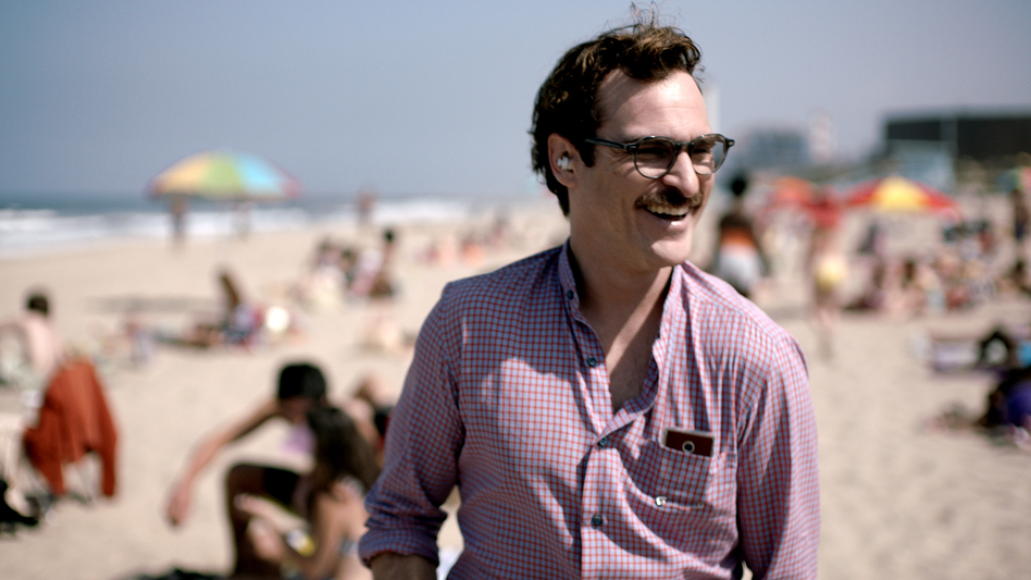 In the sci-fi romance <em>Her,</em> a lonely man (Joaquin Phoenix) finds love in a rather unexpected place — with a computer operating system named Samantha.