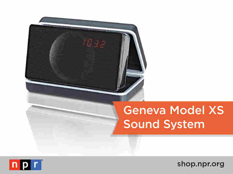 Never miss your fave NPR shows when you're on the go with this sweet portable audio system: http://n.pr/18qyeyL