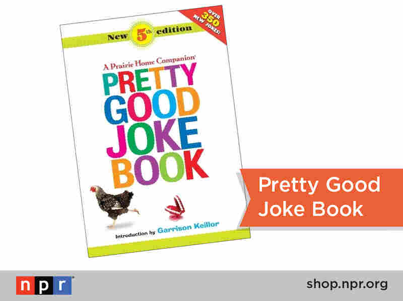 Knock-knock. Who's there? Jo. Jo who? Jo-kes for days w/ the Pretty Good Jokes Book! http://n.pr/1iGE6h8