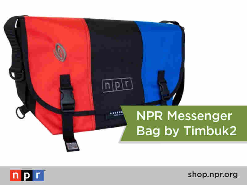 Looking for your new favorite messenger bag? We've got you covered with this NPR Timbuk2 bag: http://n.pr/18qxFF9