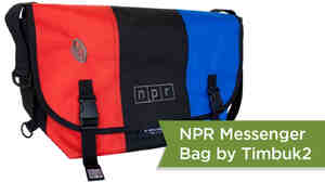 Looking for your new favorite messenger bag? We've got you covered with this NPR Timbuk2 bag. It's available in the NPR Shop: http://n.pr/18qxFF9