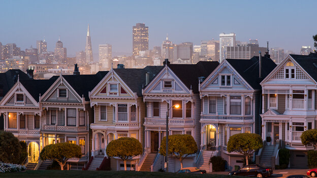 San Francisco's median home price hit $1 million this year.
