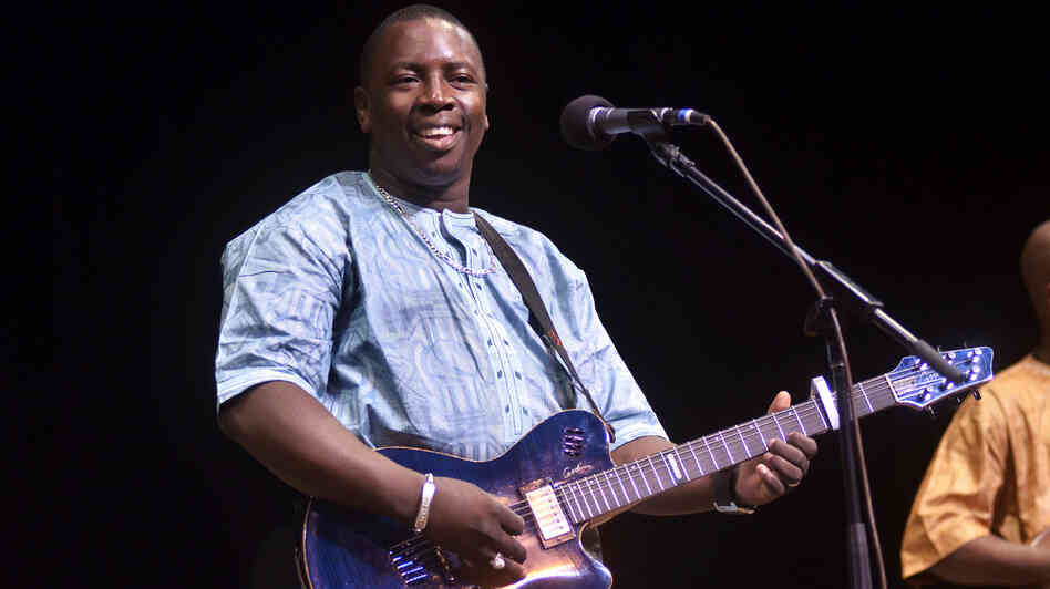 Vieux Farka Touré performs live on Mountain Stage.