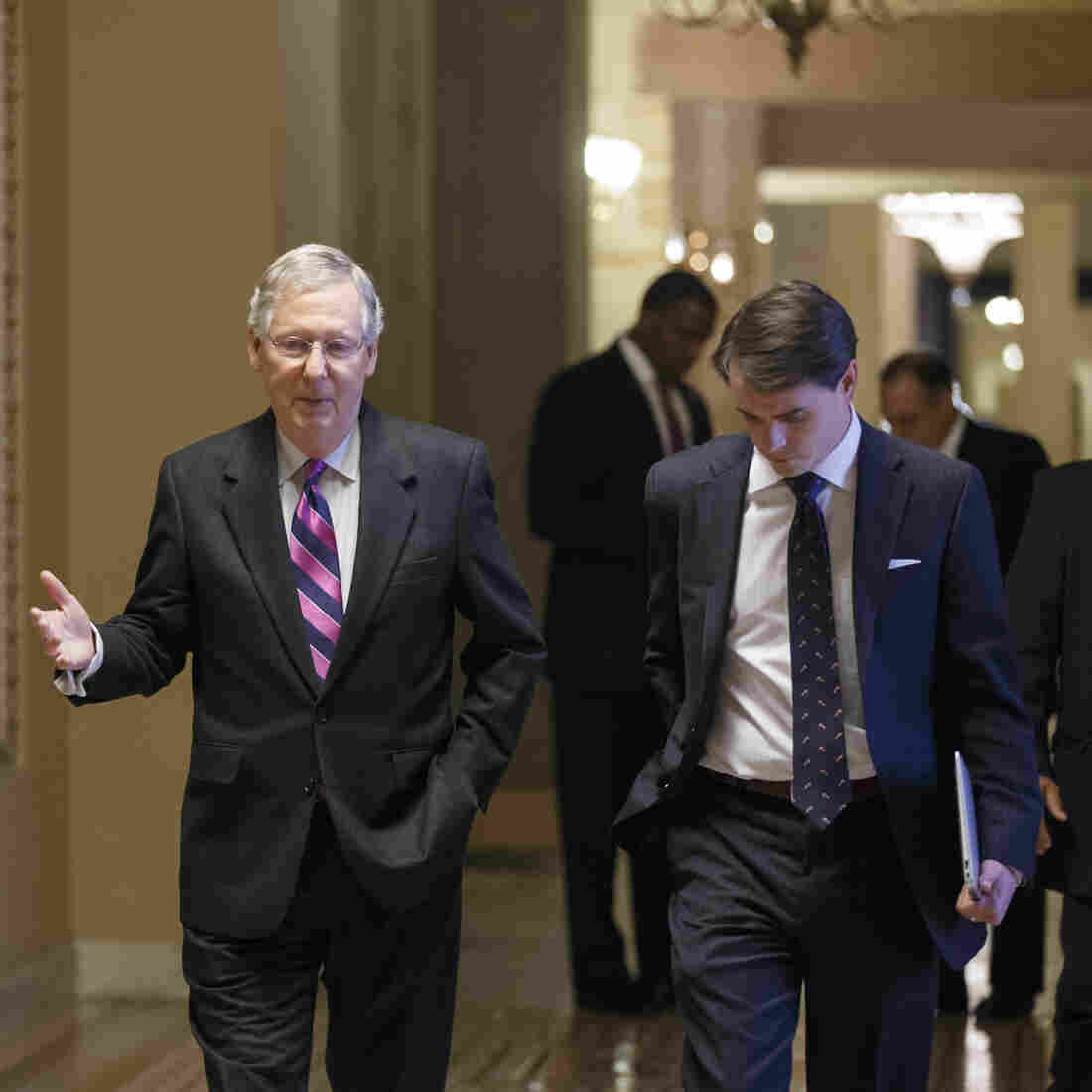 Senate Approves Budget Deal, Reducing Chances Of A Shutdown