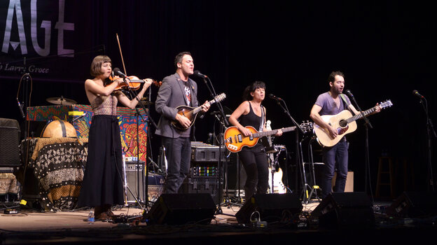 The Greencards performing live on Mountain Stage.