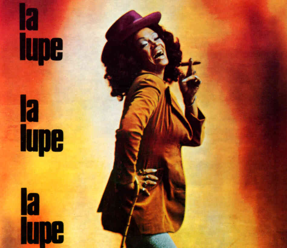Album cover for La Lupe.