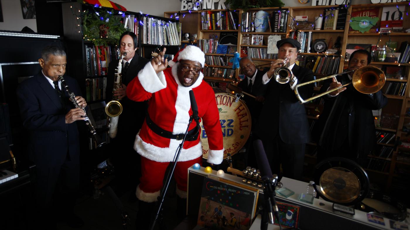 Andrea Echeverri: Preservation Hall Jazz Band: Tiny Desk Concert : NPR