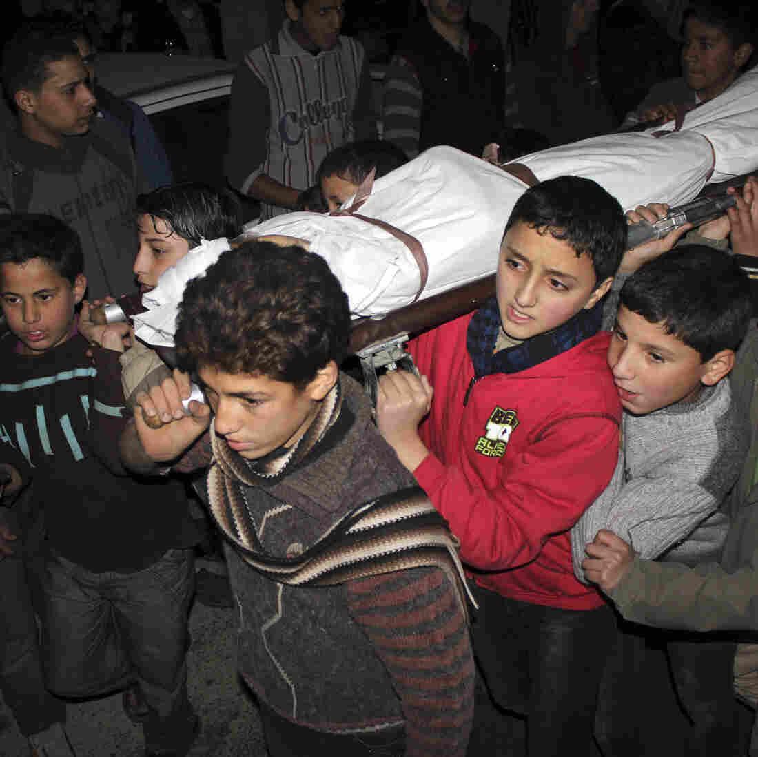 11,420 Children Dead In Syria's Civil War, So Far