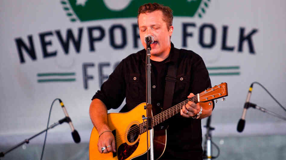 Jason Isbell performs at the 2013 Newport Folk Festival.