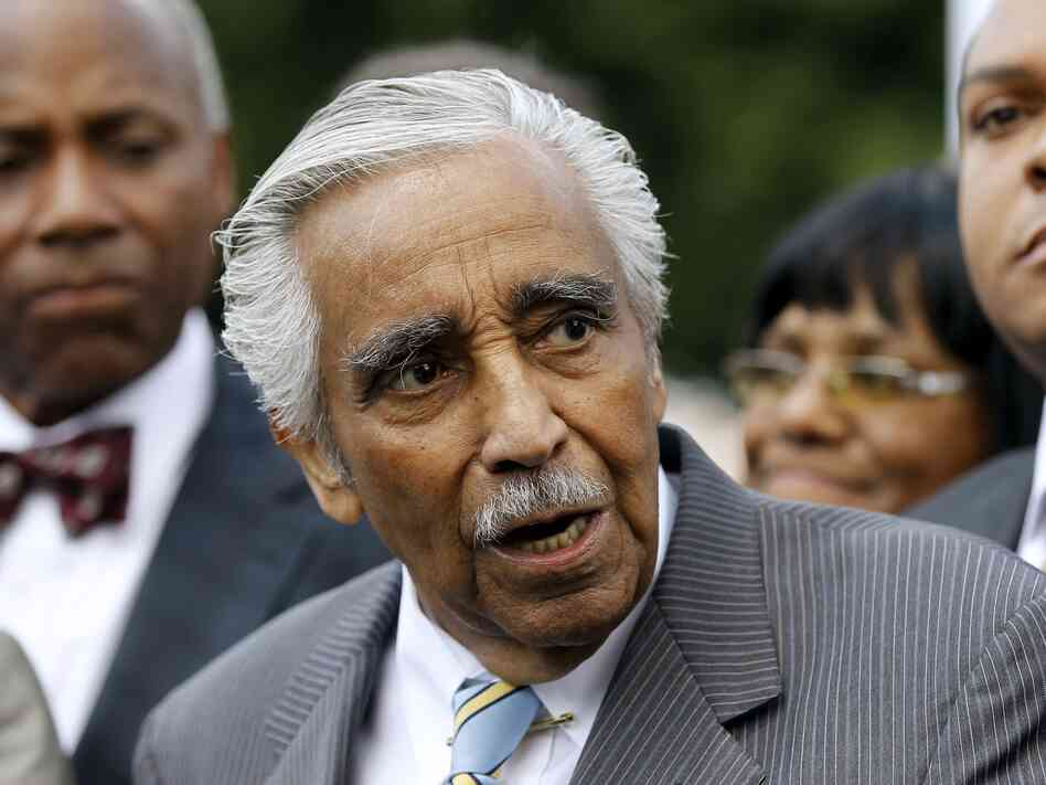 Rep. Charles Rangel, D-N.Y., said Thursday he will seek re-election to the Harlem-area seat he h
