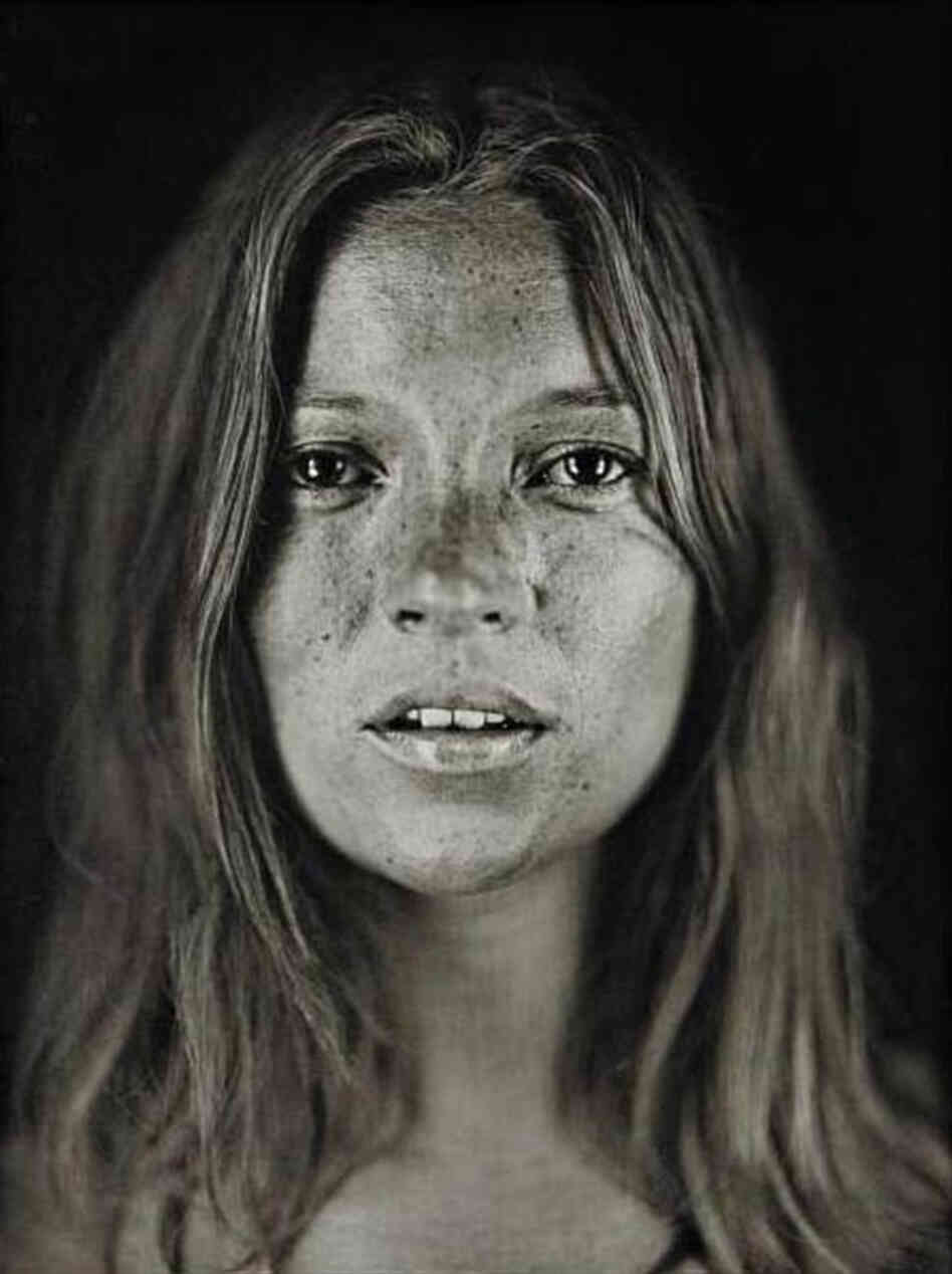 Untitled (Kate #18) by Chuck Close.