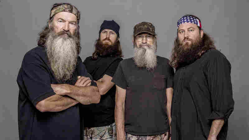 Four of the stars of Duck Dynasty, fr