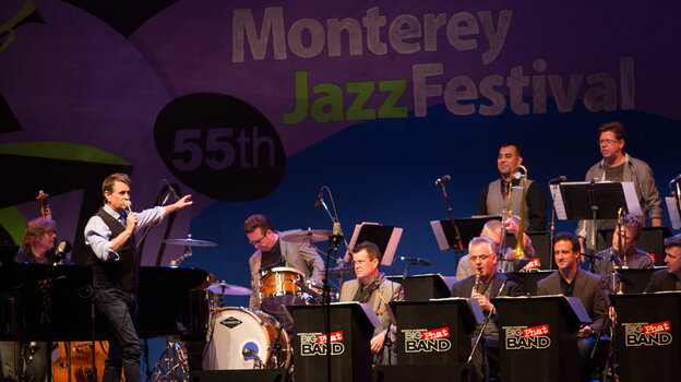 Gordon Goodwin's Big Phat Band plays the Monterey Jazz Festival.