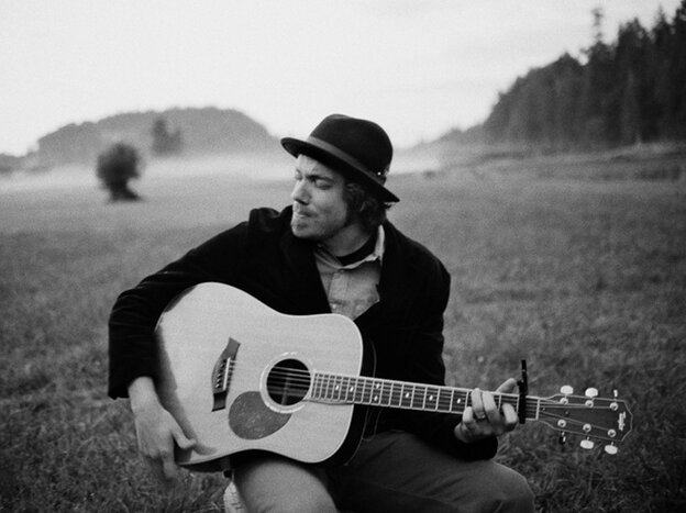 """In his music, Josh Garrels says, he tries to """"peel back layers"""" of what it means to be a Christian."""
