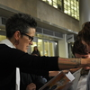 Pastor Nadia Bolz-Weber, shown here officiating civil union ceremonies in Denver in May, wrote a book on faith that recently landed on the New York Times best-seller list.