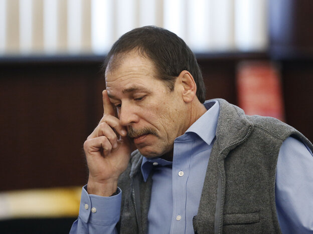Theodore Wafer, who will be tried for second-degree murder.