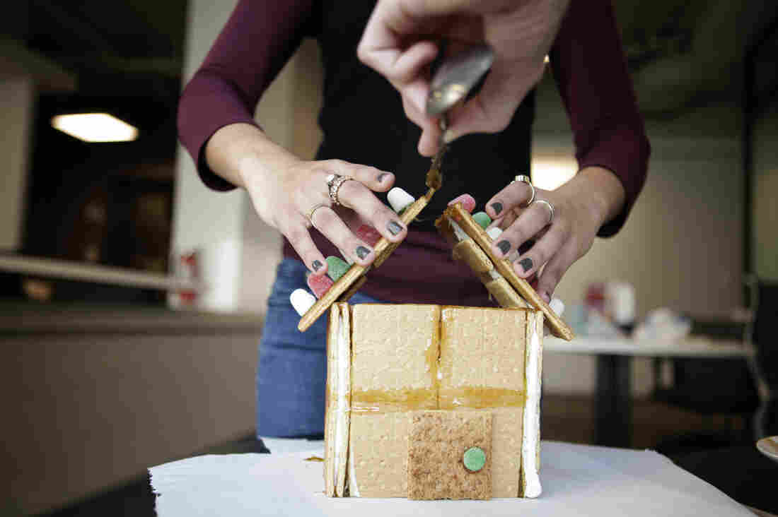With our design, gingerbread families everywhere can enjoy the holidays without having to worry about their roofs caving in.