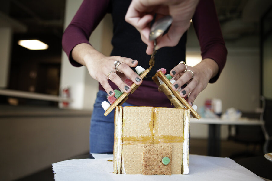 How To Build An Indestructible Gingerbread House : The Salt : NPR