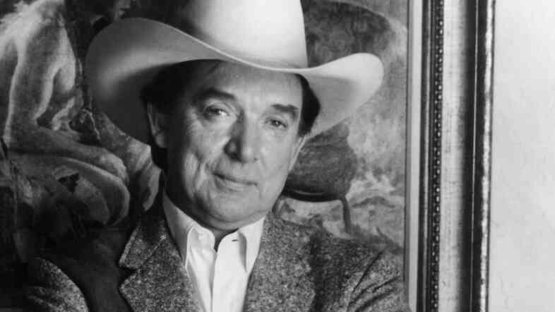 Country Music Hall of Famer Ray Price, pictured above in 1983, died Monday at age 87.