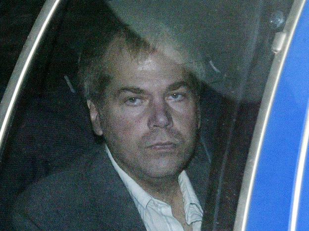 In a Nov. 18, 2003 file photo, John Hinckley Jr. arrives at U.S. District Court in Washington.