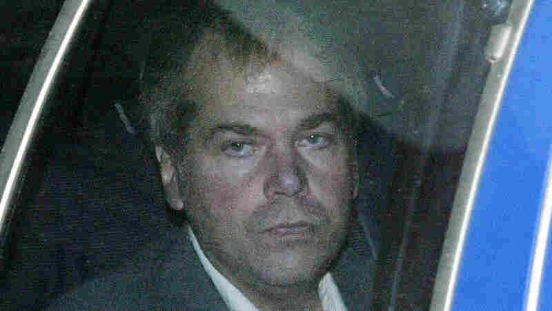 In a Nov. 18, 2003 file photo, John Hinckley Jr. arrives at U.S. District Court in Washington.